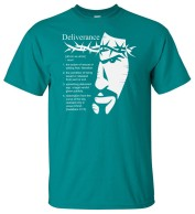 'Definition of Deliverance' Tee Jade/Light Gray