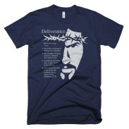 'Definition of Deliverance' Tee Navy/Light Gray